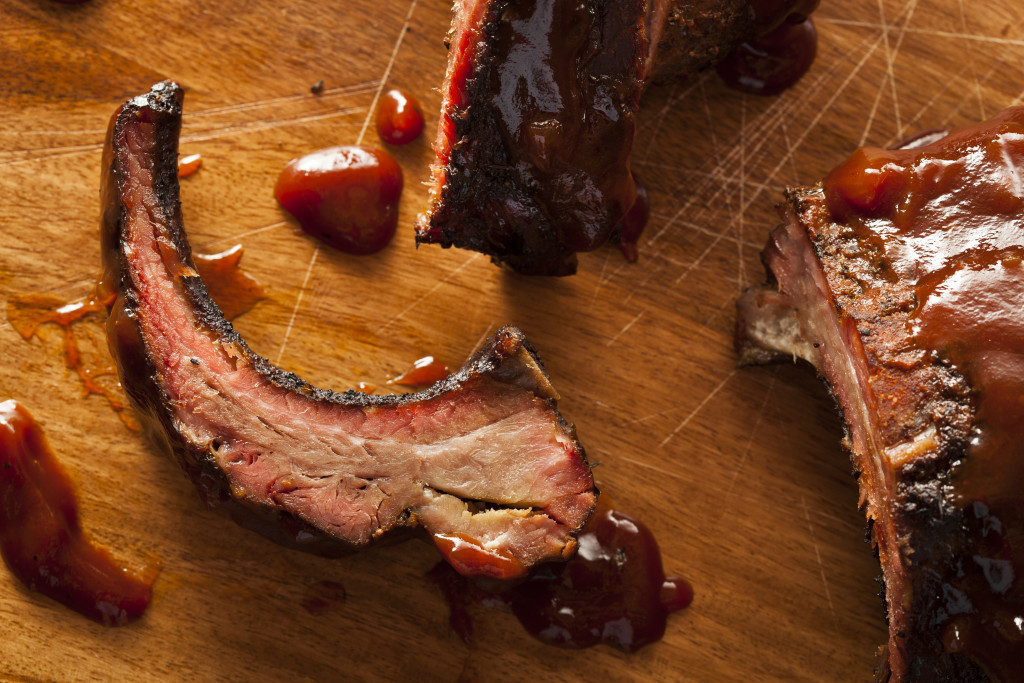 Barbecue Pork Spare Ribs